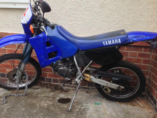 dtr 125 1990 YAMAHA  BLUE