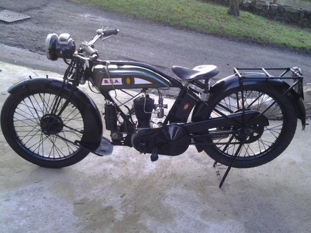 BSA 350 cc MODEL L27 1927