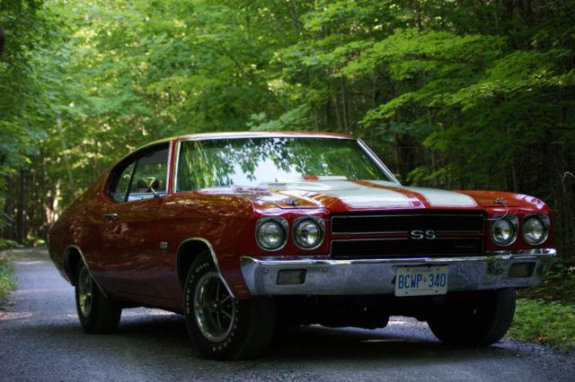 Chevrolet : Chevelle SS