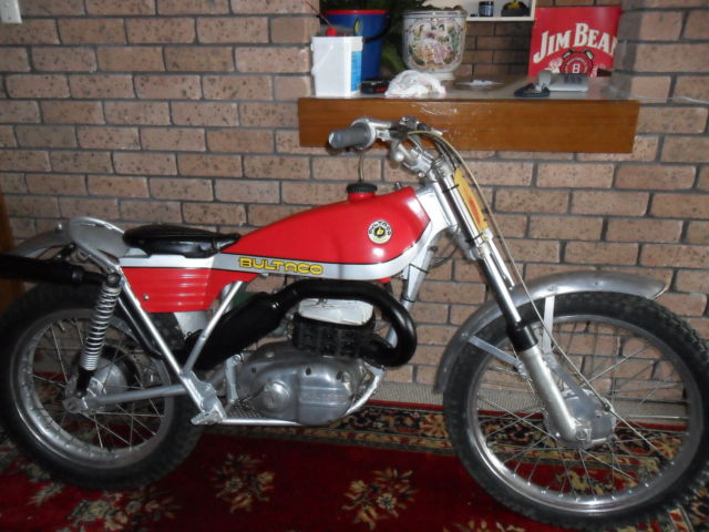 Bultaco Sherpa T 1971 350 vintage motorcycle For Sale Newcastle, NSW