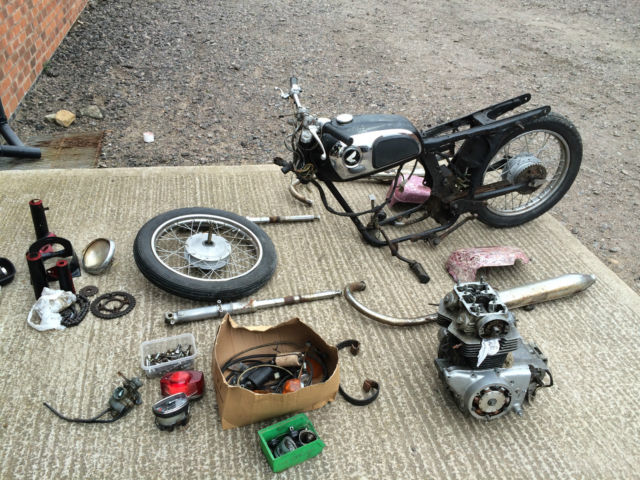 Honda cd175  Stalled restoration challenging Jigsaw can deliver reasonable cost