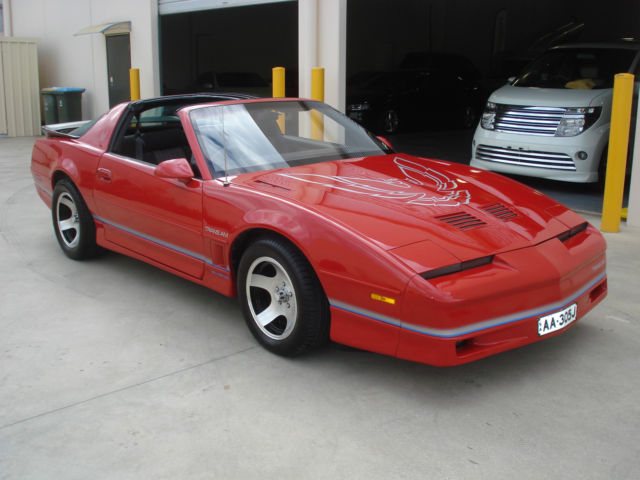 1986 pontiac firebird trans am t top coupe for sale adelaide south australia australia automotoclassicsale com automotoclassicsale com