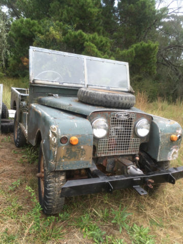 "Land Rover Series 1 88"" 1957 RARE FORESTRY IND WITH REAR  WINCH / PTO front"
