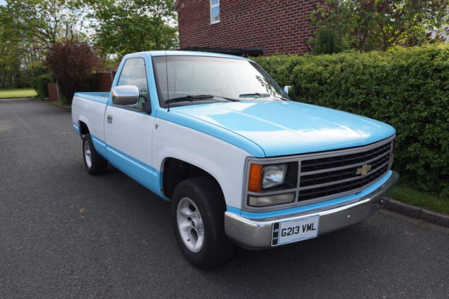 1989 AMERICAN CHEVY V8 PICK-UP TRUCK ,VERY CLEAN CHEVRIOLET TRUCK,12 MONTHS MOT