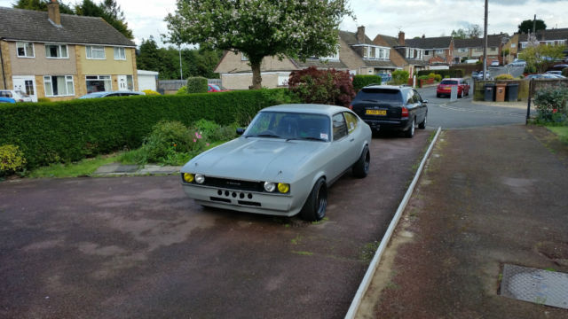 1985 FORD CAPRI 2.8 shell with 3.5 V8