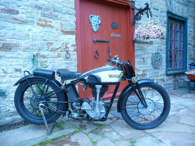 1931 Norton TT REPLICA CS1 INTERNATIONAL MANX OHC RACER