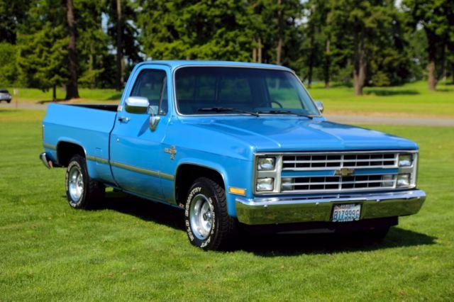 1985 Chevrolet Silverado 1500 C10