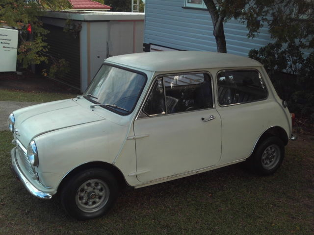 Morris Mini Matic 1968 998cc Factory  Four Speed Auto, runs and drives well.