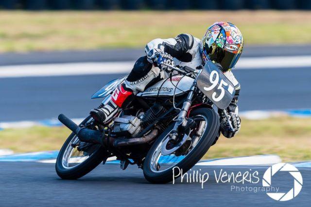 YAMAHA RX125 PERIOD 5 RACE BIKE