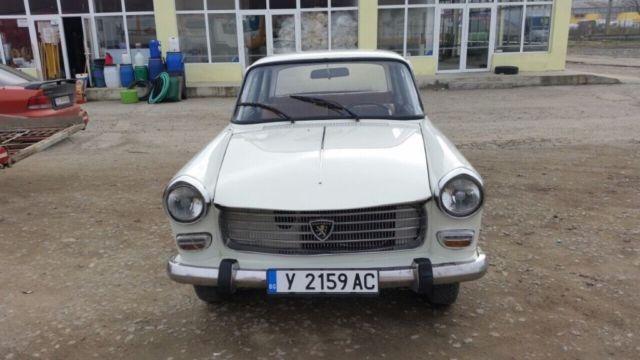 Peugeot 404 1969y. 1.9D Classic Retro Car For Sale!!! Bargain! Last Auction!