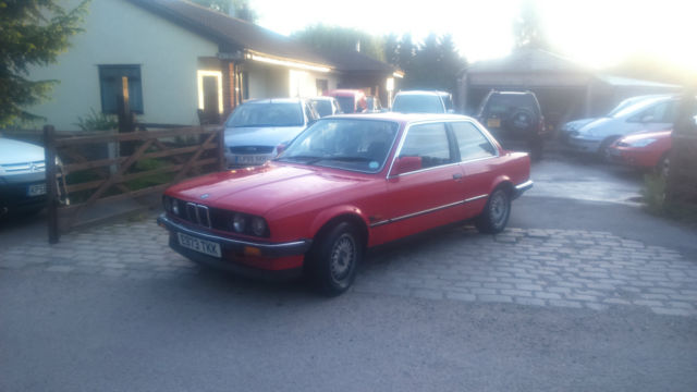 E30 BMW 316 318 2 door 1987 rare Chrome Bumper
