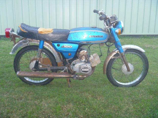 1979 SUZUKI A100 - BLUE - ORIGINAL CONDITION - GREAT PROJECT OR RESTORATION
