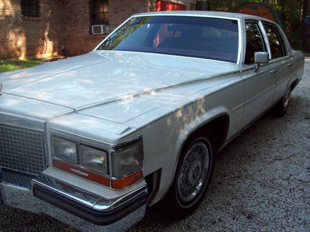1988 Cadillac Brougham Fleetwood