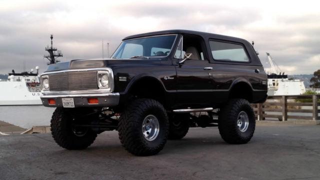 1972 Chevrolet Blazer BLAZER K5 FUEL INJECTED A/C 4X4 4WD