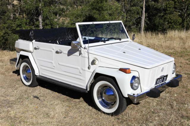 VW 181 Thing Convertible 1974, not Beetle, Kombi, Manx, Volkswagen