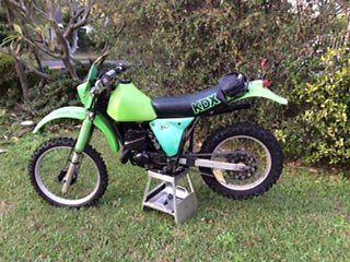 Kawasaki 1981 KDX 175 Vinduro