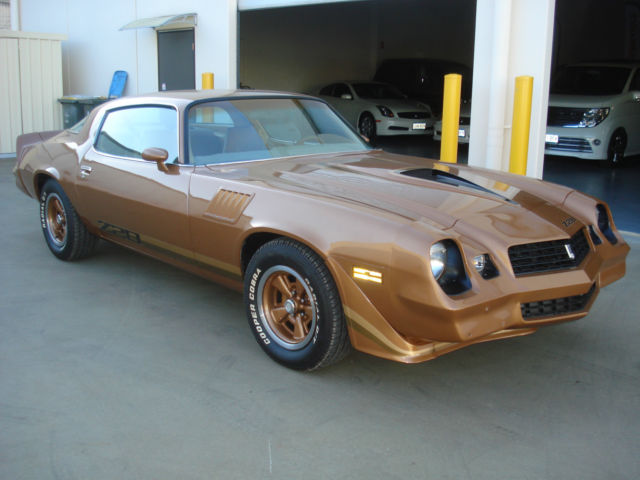 8/1978 Built 1979 Model CHEVROLET Z28 CAMARO