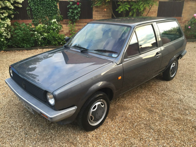 VW POLO FOX, 1988, BEST AVAILABLE, 22K MILES, ONE OWNER UNTIL 2014, IMMACULATE