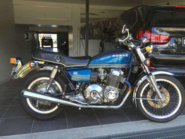 honda 750a 1977 great condition for a 38 year old bike,rare in this condition