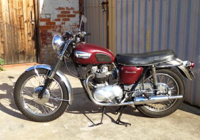 1968 triumph tiger 100