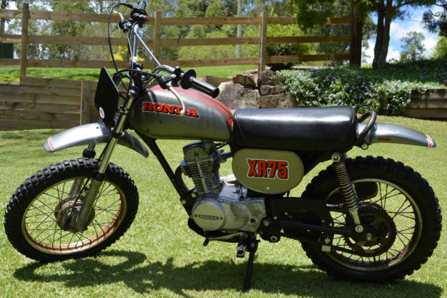 Honda XR75 XR 75 K0 1973 Rare survivor vintage highly collectable motorcycle