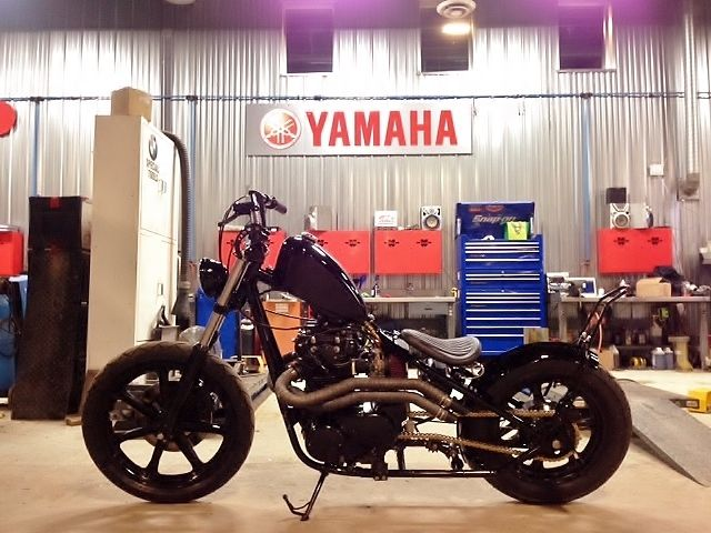 Custom Built Motorcycles: Bobber