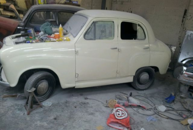 austin a30 1952 unfinished project
