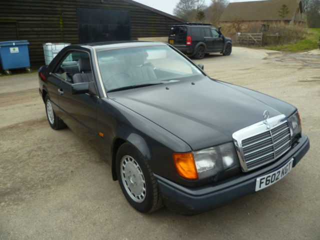 1989 MERCEDES 300 CE AUTO BLACK,MOT FEB 2017,3 PREVIOUS OWNERS,NICE RUNNER,