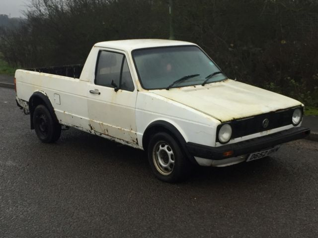 1987 Volkswagen Caddy Pick up 1.6 Diesel - VW Ideal as a Custom or Restoration