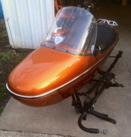 Harley Davidson TLE Ultra Sidecar with attachment kit