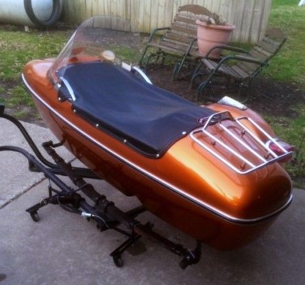 Harley Davidson Tle Ultra Sidecar With Attachment Kit For Sale