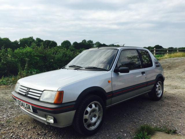 RARE 1989 PEUGEOT 205 1.9 GTI SILVER - 2 Previous Owners - Full History