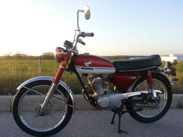 Classic 1971 CB100 original
