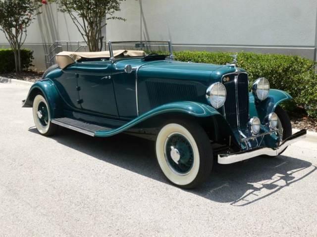 1931 Auburn Convertible Coupe