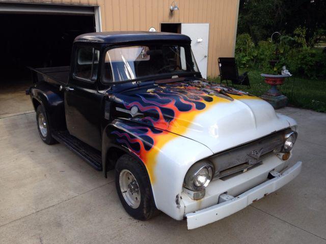 1956 Ford F-100 Pickup Truck Barn Find Survivor Hot Rod