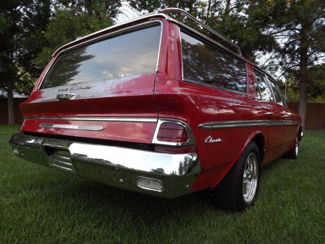 1963 AMC Rambler Classic 770 Cross Country Station Wagon Chevrolet Malibu Nova