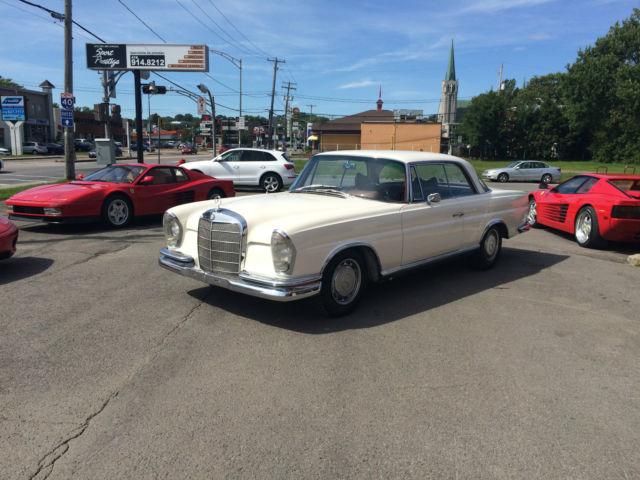 1965 MERCEDES-BENZ 220 SE COUPE W 111  EUROPEAN CAR