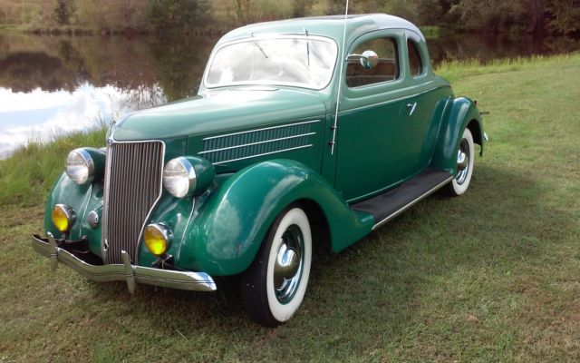 1936 Ford V8 Five 5 Window Coupe w/ Rumble Seat