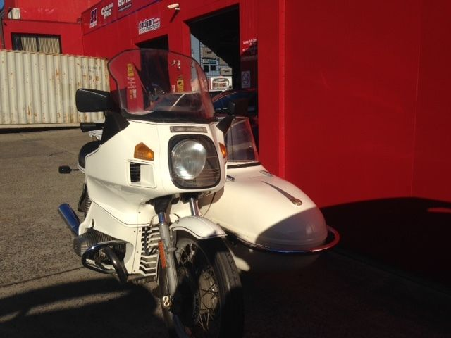 1983 BMW Boxer RT800 TIC with Watsonian Sidecar - Fantastic old girl!!