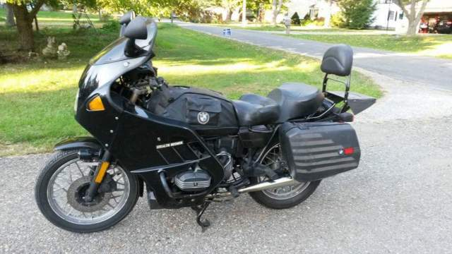 1983 BMW R-65 customized for touring