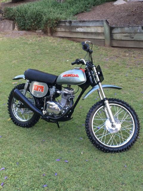 Honda XR75 XR 75 K0 1973 Rare fully restored motorcycle trail motocross bike