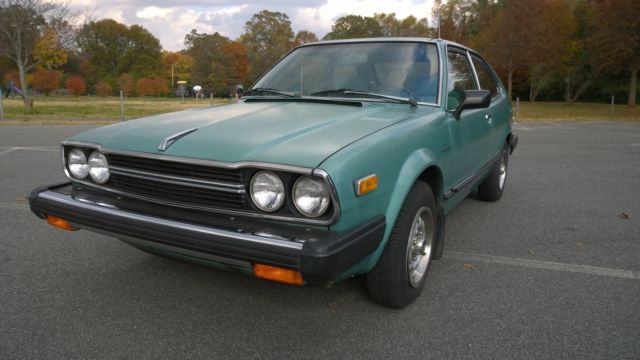1981 Honda Accord Hatchback ALL ORIGINAL