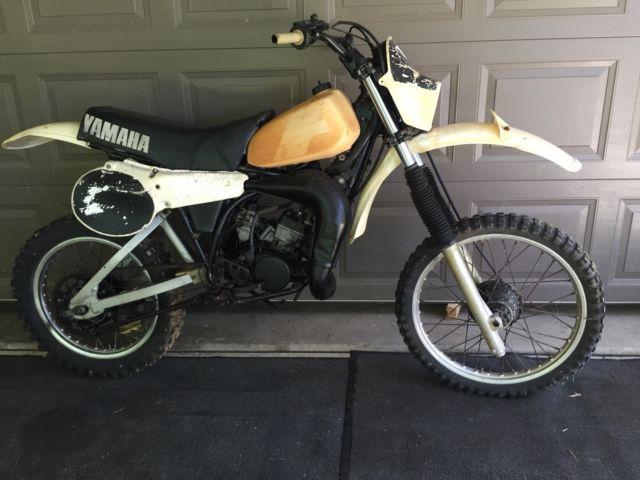 YZ125H Yamaha 1981 VMX