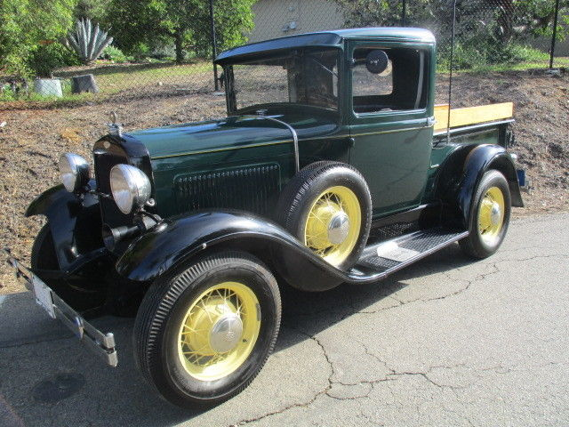1931 Ford Model A Hardtop Truck, BEAUTIFUL,Stock style, built to drive anywhere!