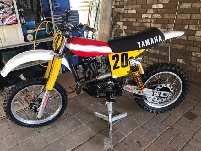 HL 500 Yamaha 1978 Model Motocross Bike