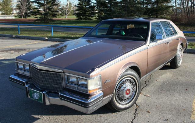 1983 Cadillac Seville Elegante Sedan 4-Door 4.1L