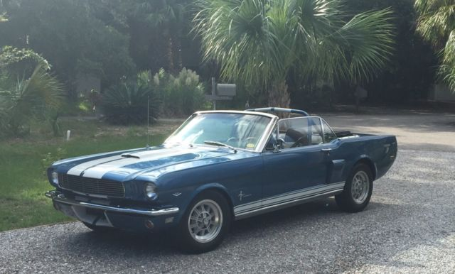 1965 Ford Mustang Convertible Shelby Clone