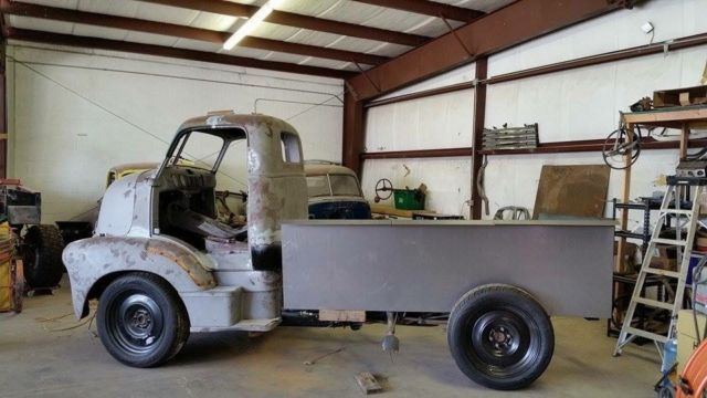 1953 Chevrolet Custom COE Build Project LS Powered