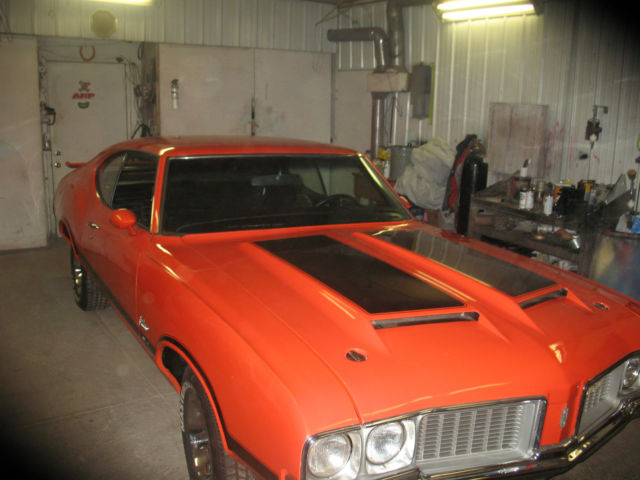 1970 olds w31 rally red 4 speed