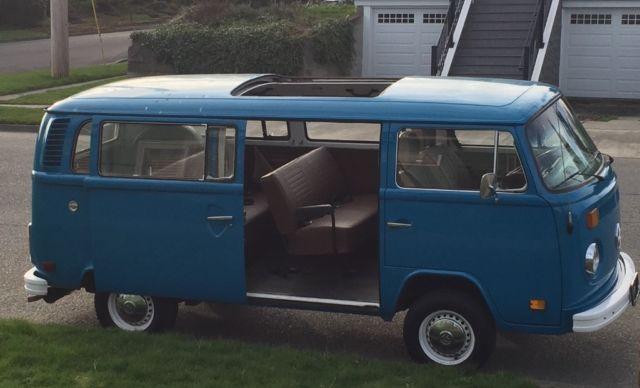 1977 Volkswagen Transporter Bus